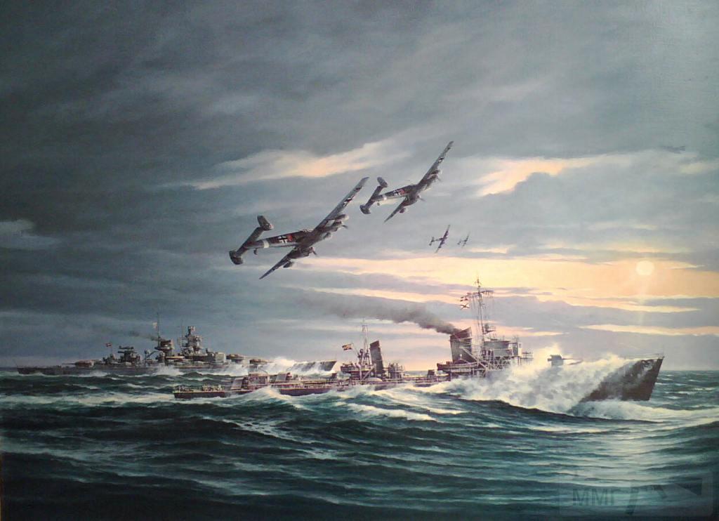 7725 - Scharnhorst with escort