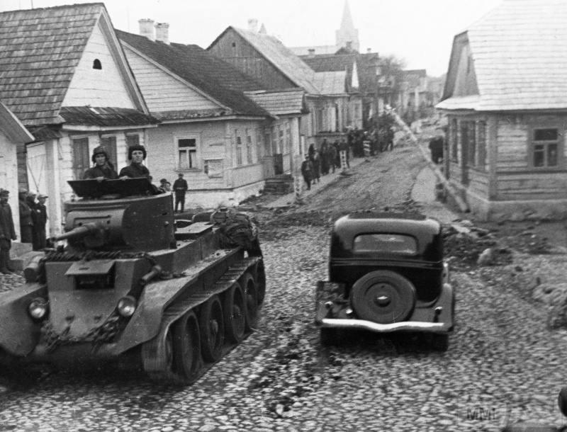 77487 - Раздел Польши и Польская кампания 1939 г.