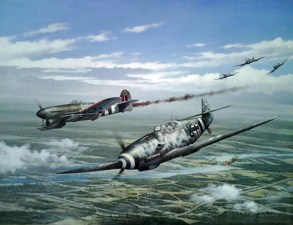7808 - Me-109 vs Hawker Typhoon