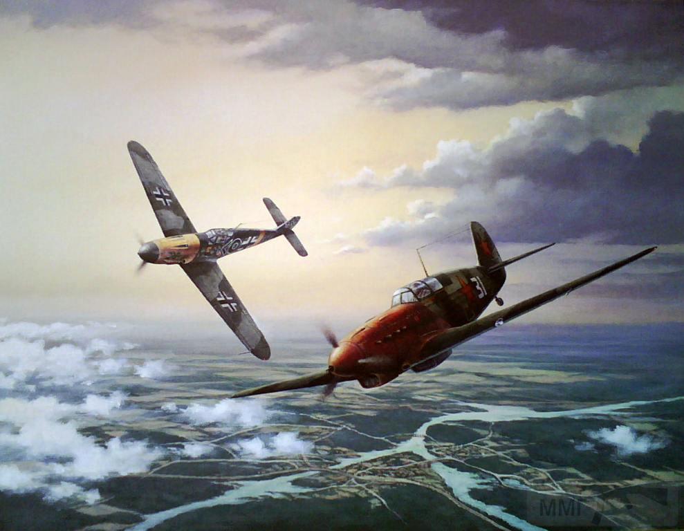 7809 - Me-109 vs Як-7