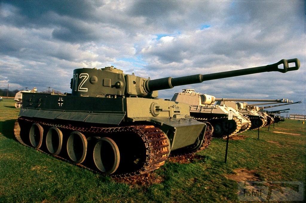 78523 - Танк Тигр - лучший танк Второй Мировой Войны?