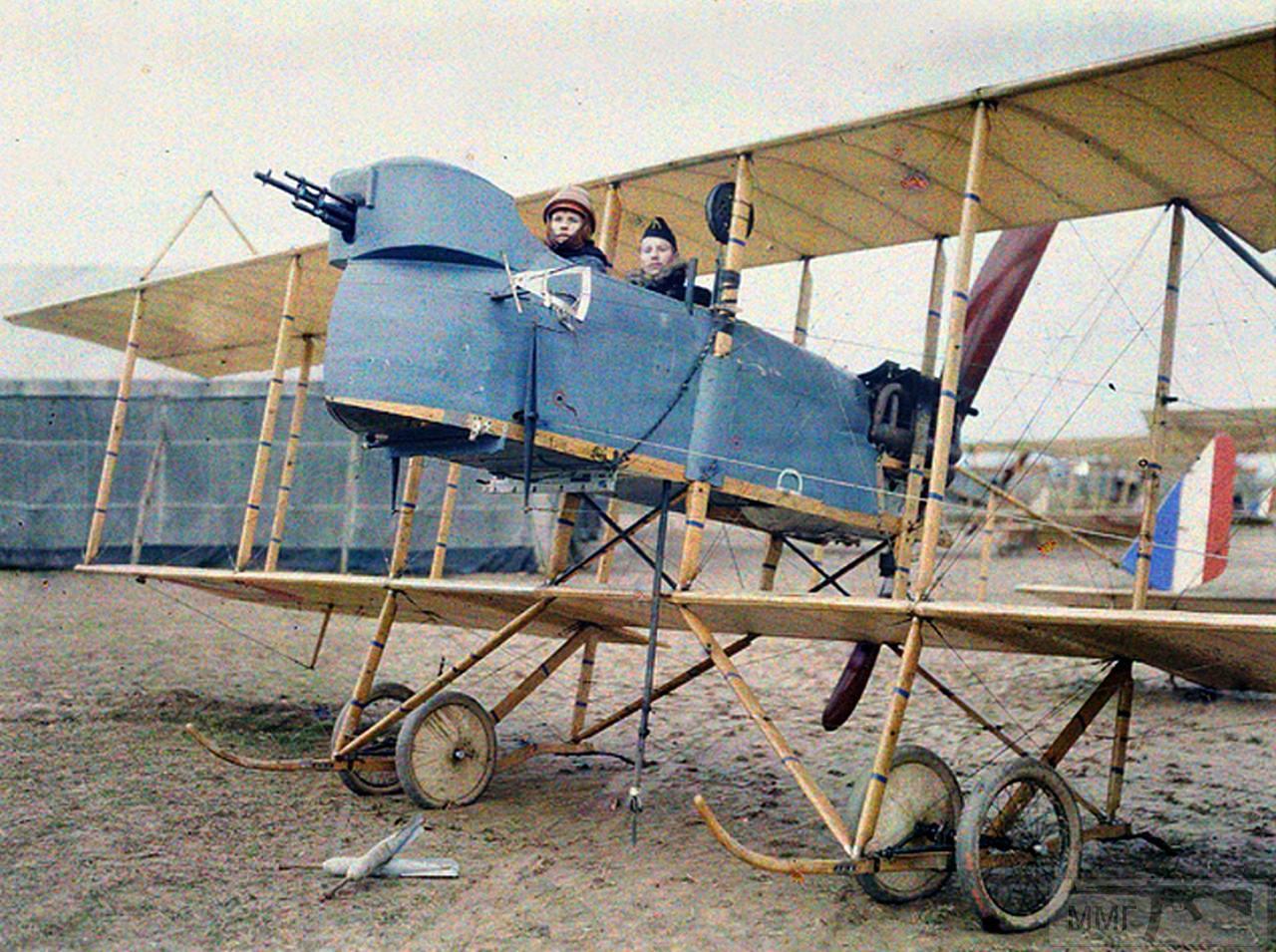 79980 - Французский аэроплан Farman M.F.11