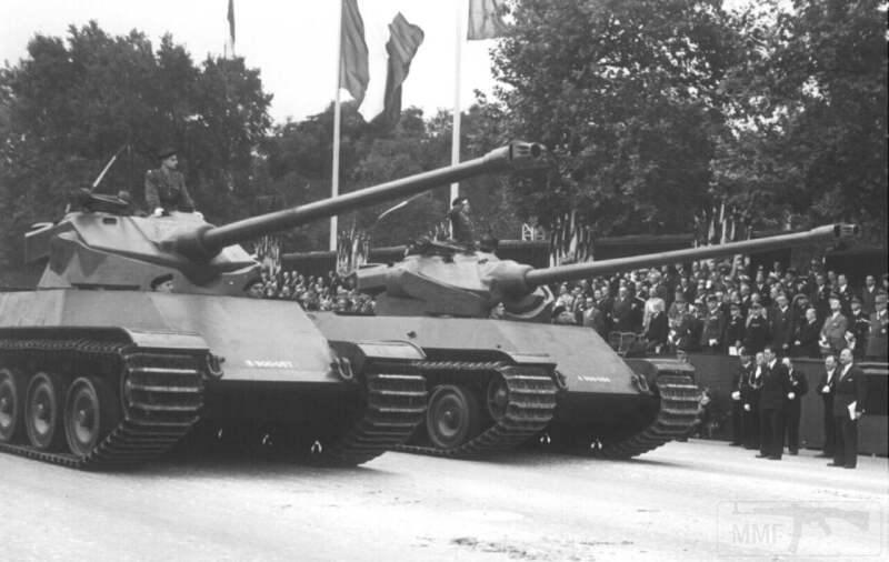 8020 - Не пошедшие в серию послевоенные прототипы