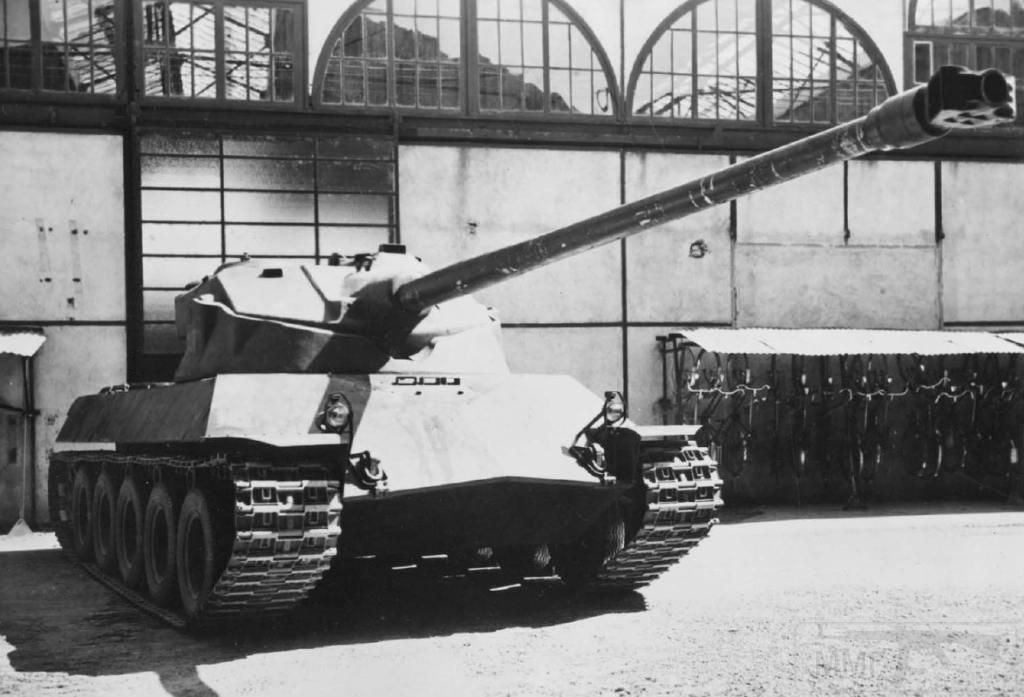 8034 - Не пошедшие в серию послевоенные прототипы