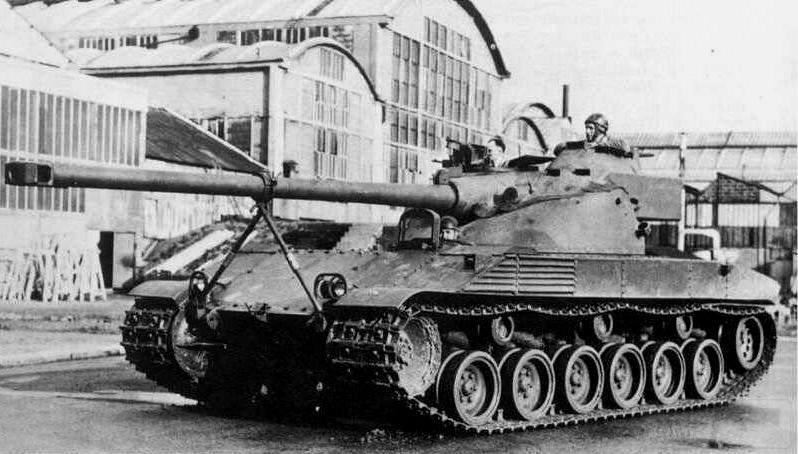 8037 - Не пошедшие в серию послевоенные прототипы