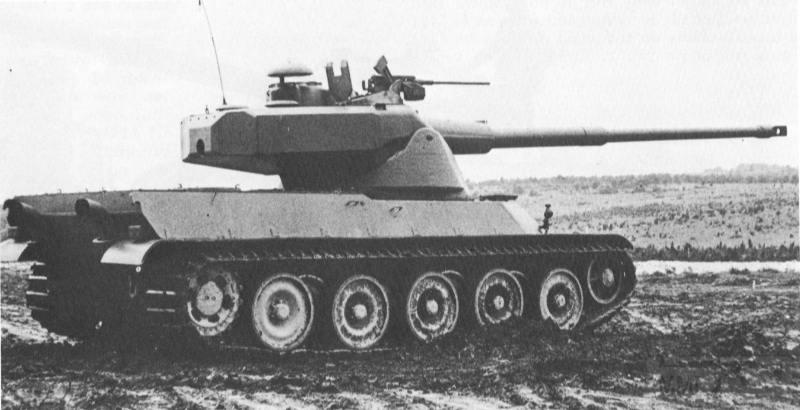 8072 - Не пошедшие в серию послевоенные прототипы