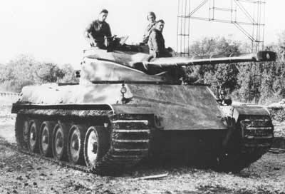8073 - Не пошедшие в серию послевоенные прототипы
