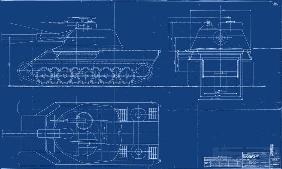 8076 - Не пошедшие в серию послевоенные прототипы