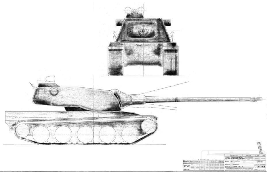 8077 - Не пошедшие в серию послевоенные прототипы