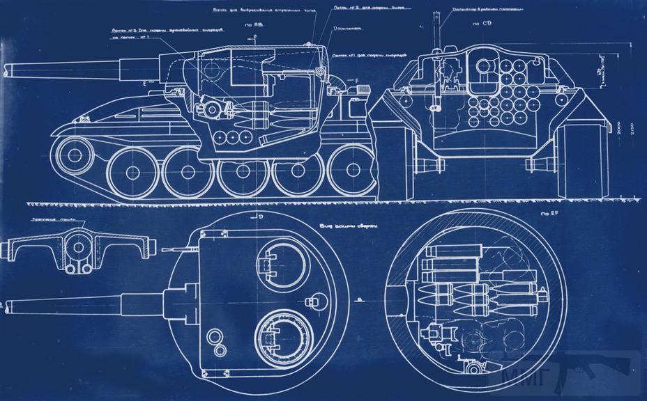 8095 - Качающаяся башня, напоминающая французские танки AMX-13 и AMX-50