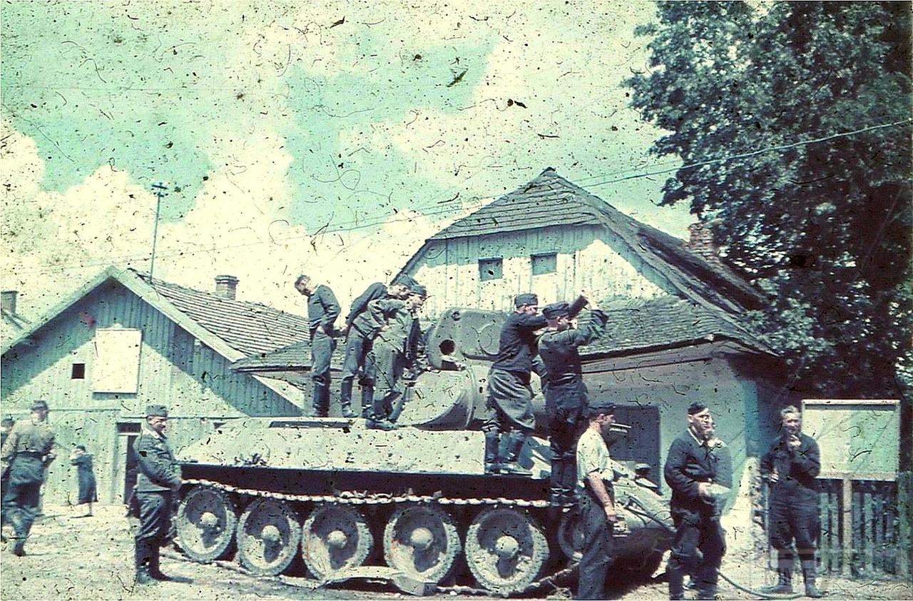 81033 - Лето 1941г,немецкие фото.