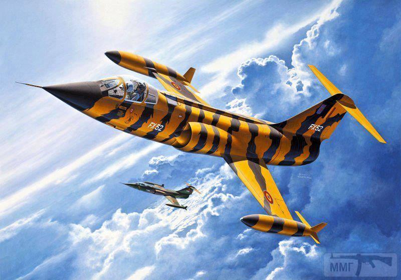 81087 - Художественные картины на авиационную тематику
