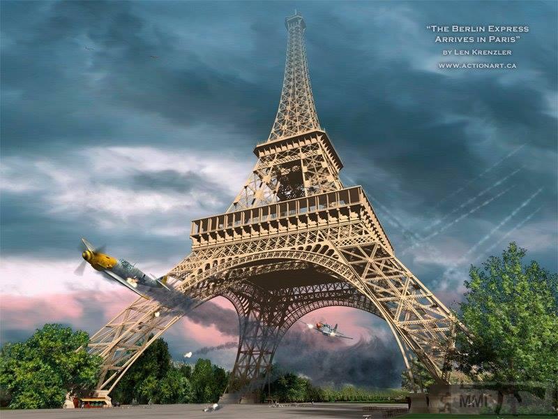81091 - Художественные картины на авиационную тематику