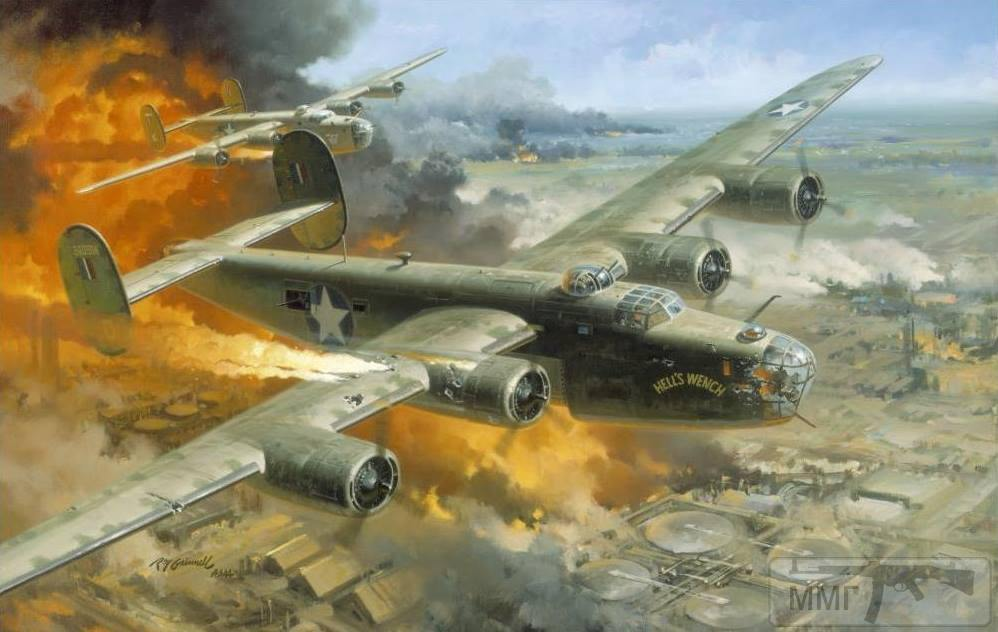 81093 - Художественные картины на авиационную тематику