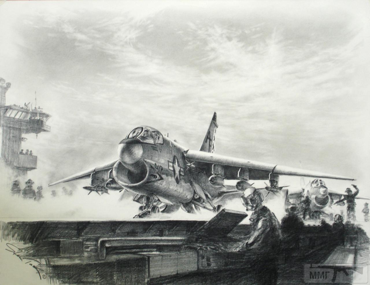 81096 - Художественные картины на авиационную тематику