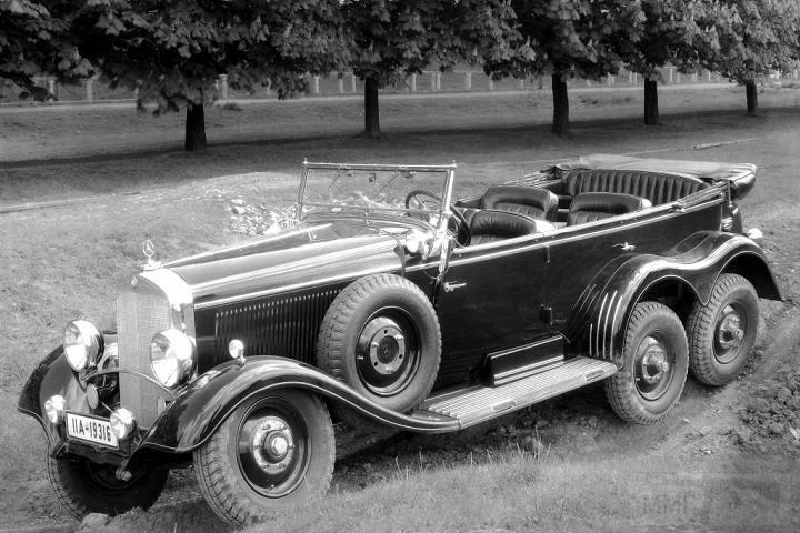 8154 - Легковые автомобили Третьего рейха