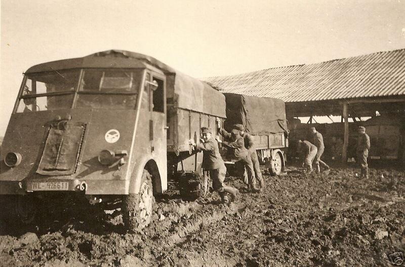 8171 - Грузовые и спец.автомобили Третьего рейха