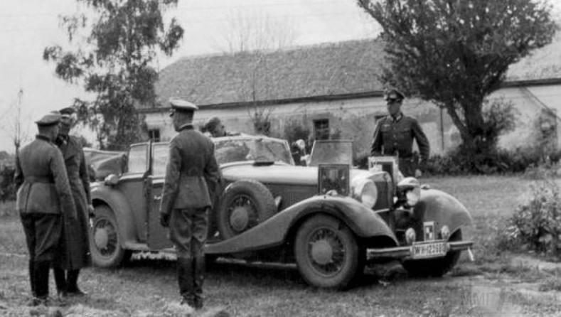 8180 - Легковые автомобили Третьего рейха