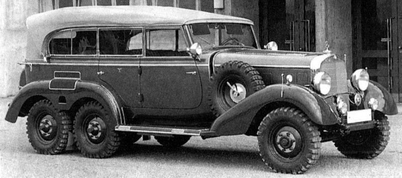 8181 - Легковые автомобили Третьего рейха