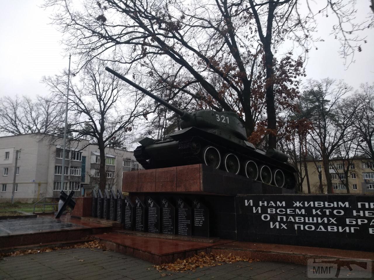 82062 - Танки-памятники в Украине