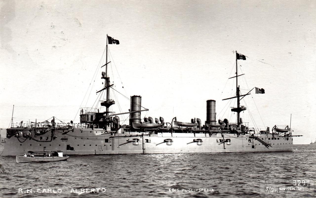 82092 - Броненосный крейсер Carlo Alberto