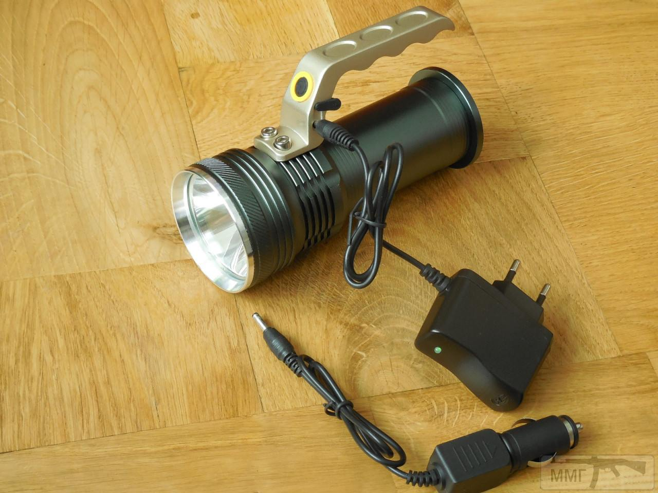 82487 - Дальнобойный Поисковый Фонарь на 2 аккумулятора Li-on 18650