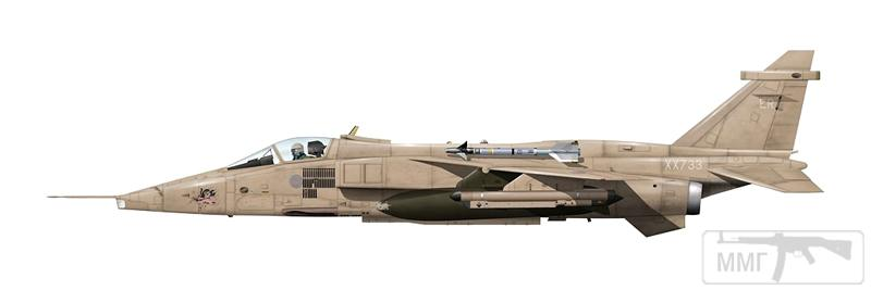 """83051 - Британские самолеты Jaguar GR-1A в операции """"Буря в пустыне"""" 1991 г."""