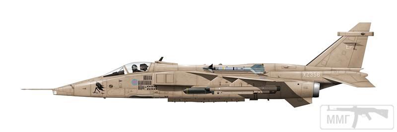 """83052 - Британские самолеты Jaguar GR-1A в операции """"Буря в пустыне"""" 1991 г."""