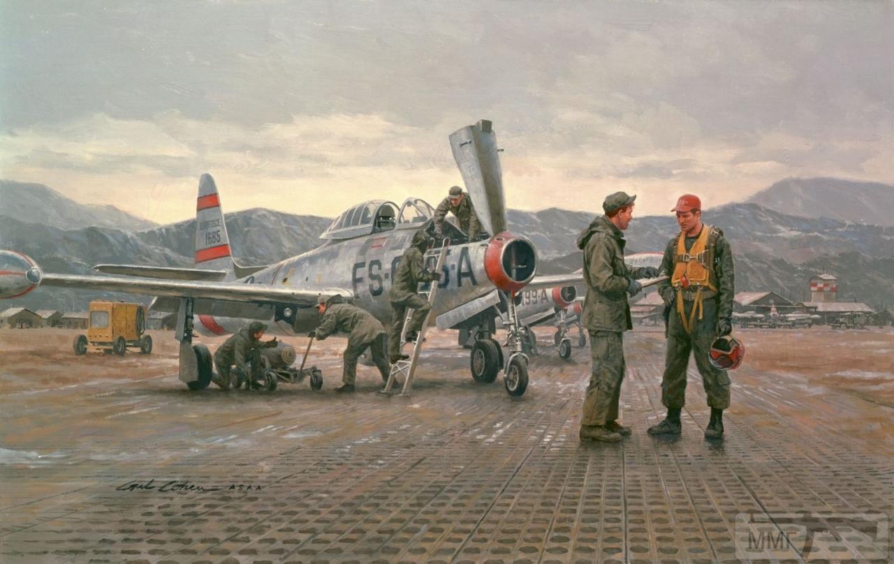83216 - Художественные картины на авиационную тематику