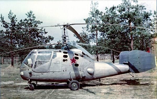 8343 - Первый палубный вертолет СССР.