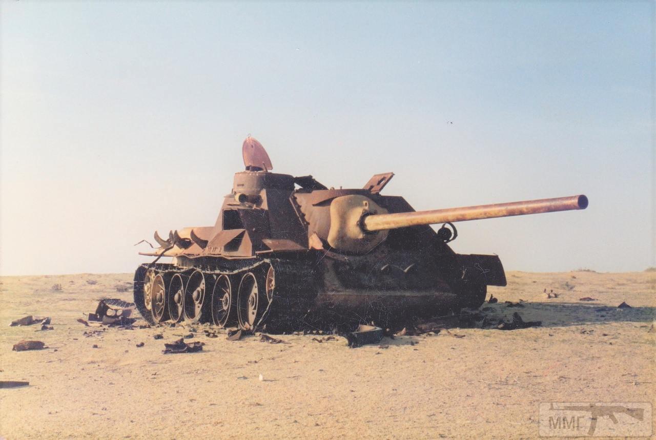 83460 - Послевоенное использование советской бронетехники WW2