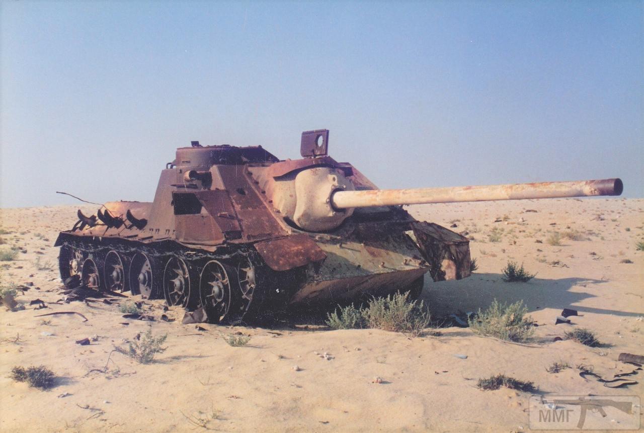 83461 - Послевоенное использование советской бронетехники WW2