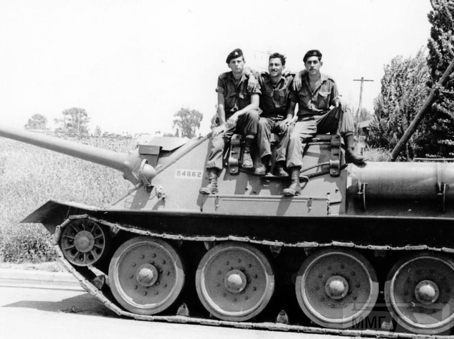83462 - Послевоенное использование советской бронетехники WW2