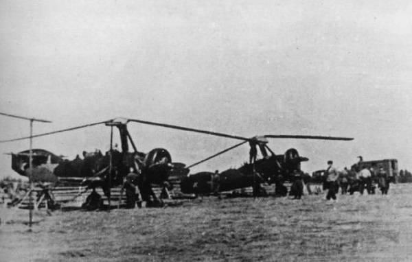 8349 - Первый палубный вертолет СССР.