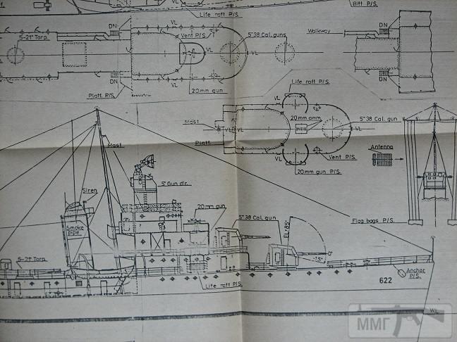 83835 - ВМС США. Чертежи. Список.