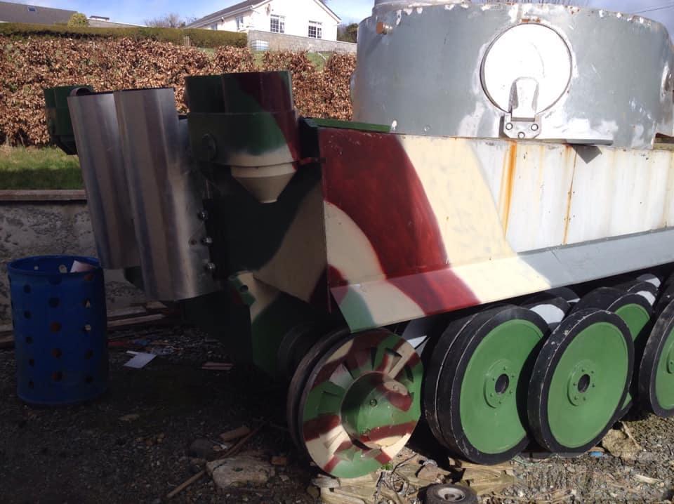 84493 - Деревянный танк