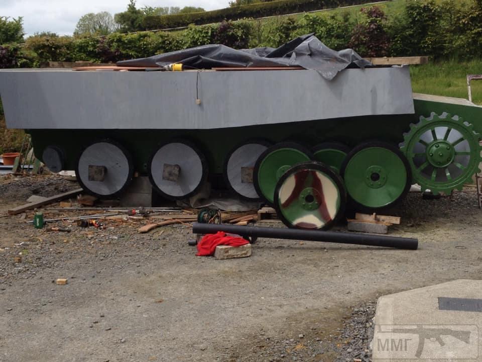 84496 - Деревянный танк