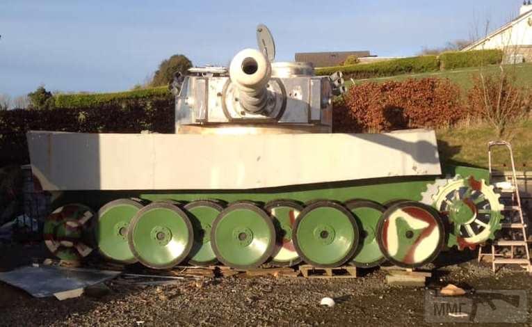84499 - Деревянный танк