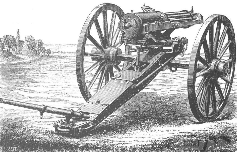 84588 - Пра пра пра пулемёта.