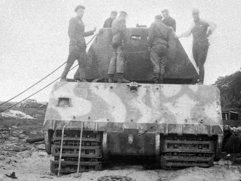 8471 - Немецкий сверхтяжёлый танк Pz.Kpfw.Maus
