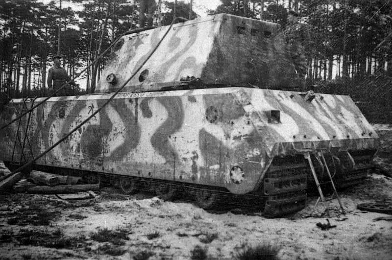 8472 - Немецкий сверхтяжёлый танк Pz.Kpfw.Maus