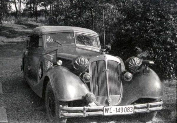 8485 - Легковые автомобили Третьего рейха
