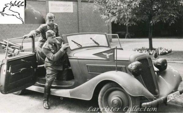 8492 - Легковые автомобили Третьего рейха