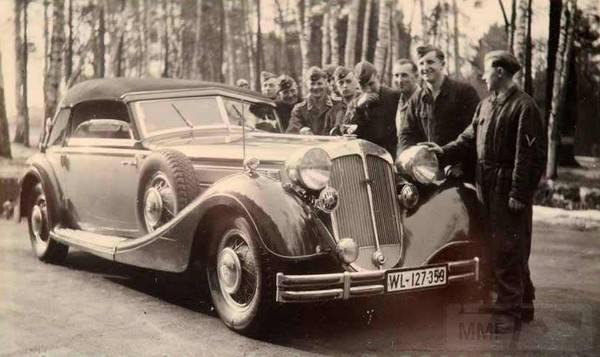 8503 - Легковые автомобили Третьего рейха