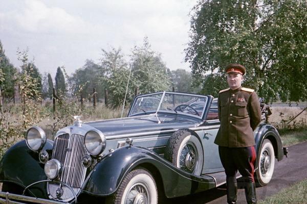 8507 - Легковые автомобили Третьего рейха
