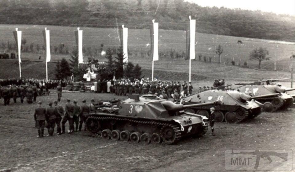 """86415 - Служба немецких """"коробочек"""" после войны..."""