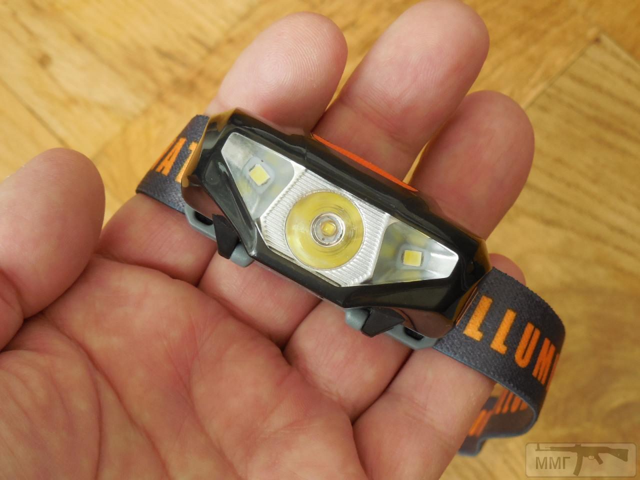 87301 - Налобный фонарь Sunree Ree koпiя на батарейку АА 1,5в. аккум 14500 Li-on