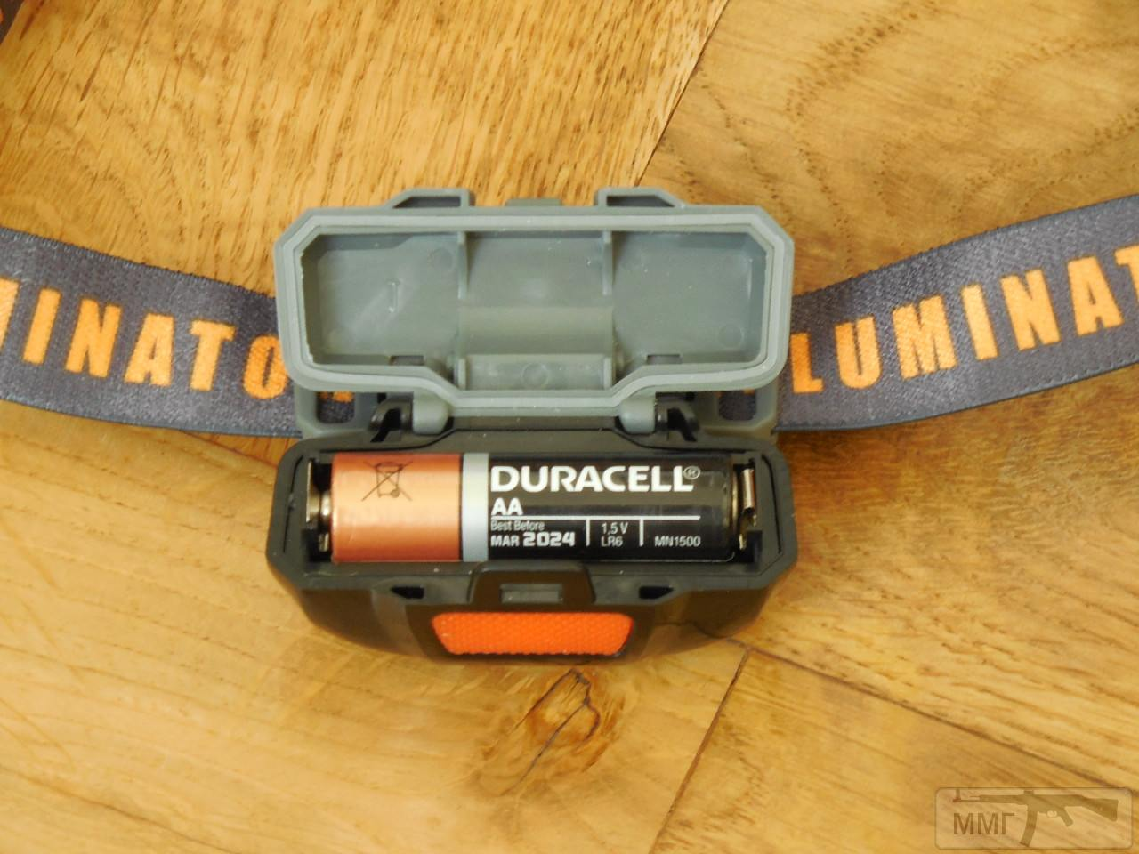 87302 - Налобный фонарь Sunree Ree koпiя на батарейку АА 1,5в. аккум 14500 Li-on