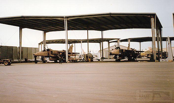 """8735 - Британские самолеты Jaguar GR-1A в операции """"Буря в пустыне"""" 1991 г."""