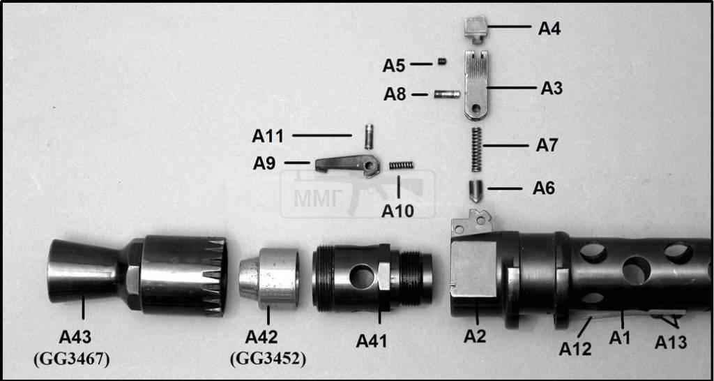 874 - Все о пулемете MG-34 - история, модификации, клейма и т.д.
